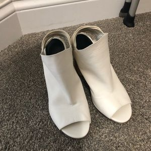 NWT 3:1 Phillip Lim booties in white